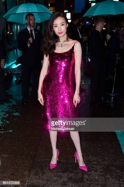 Ni Ni attends the Tiffany Paper Flowers Collection Launch at Tiffany Co on May 3 2018 in New York City