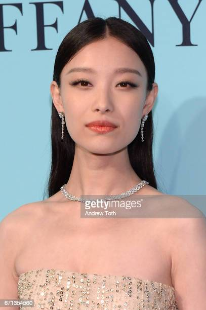 Ni Ni attends Tiffany Co 2017 Blue Book Collection Gala at St Ann's Warehouse on April 21 2017 in New York City