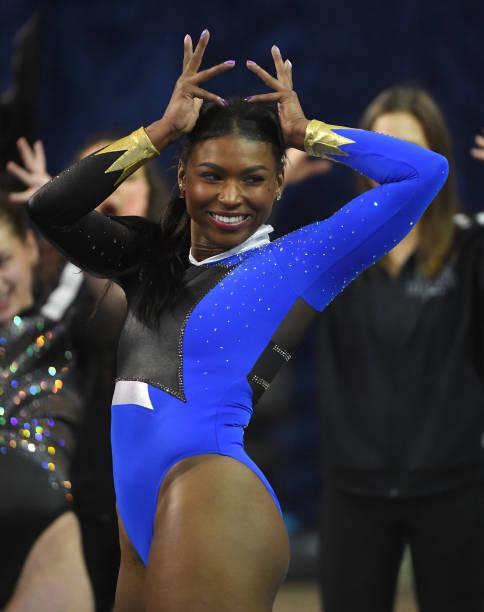 CA: In The News: UCLA Gymnast Nia Dennis