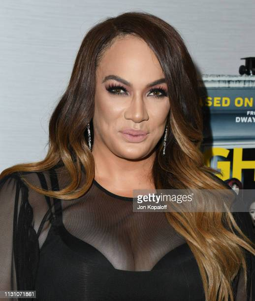 Nia Jax attends Fighting With My Family Los Angeles Tastemaker Screening at The London Hotel on February 20 2019 in West Hollywood California