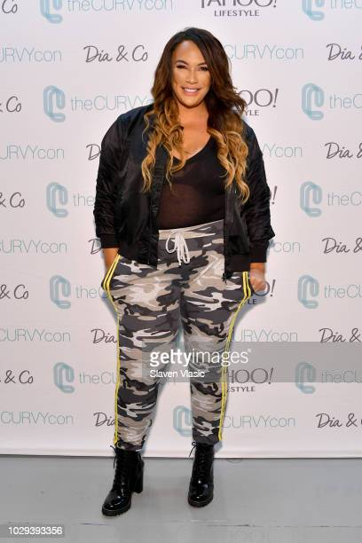 Nia Jax attends theCURVYcon Powered By DiaCo on September 8 2018 in New York City