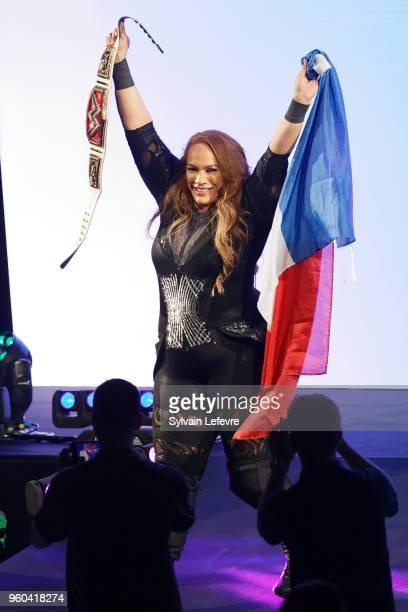 Nia Jax attends WWE Live AccorHotels Arena Popb Paris Bercy on May 19 2018 in Paris France