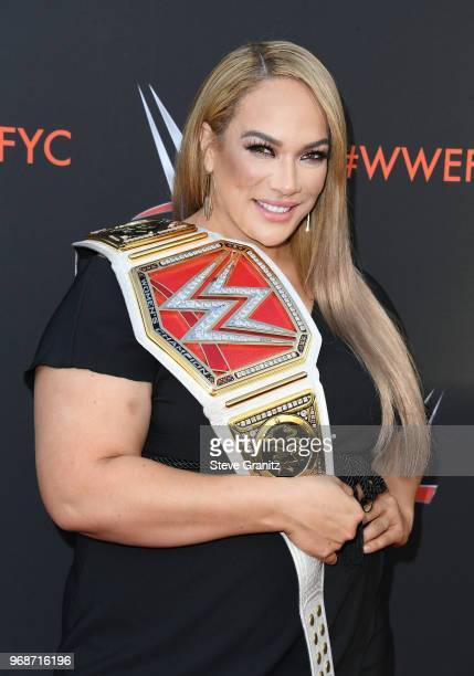 Nia Jax attends WWE's firstever Emmy For Your Consideration event at Saban Media Center on June 6 2018 in North Hollywood California