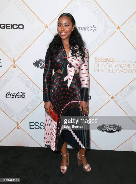 Nia Jervier attends the 2018 Essence Black Women In Hollywood Oscars Luncheon at Regent Beverly Wilshire Hotel on March 1 2018 in Beverly Hills...