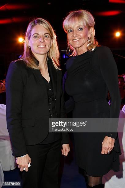 Nia Kuenzer and Christa Kinshofer attend the Laureus Media Award 2012 on November 05 2012 in Kitzbuehel Austria