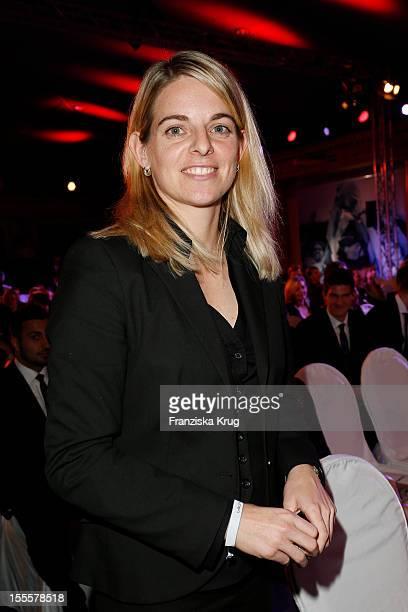 Nia Kuenzer attends the Laureus Media Award 2012 on November 05, 2012 in Kitzbuehel, Austria.