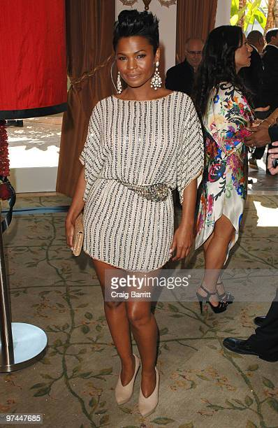 Nia Long arrive at the 3rd Annual Essence Black Women In Hollywood Luncheon at Beverly Hills Hotel on March 4 2010 in Beverly Hills California