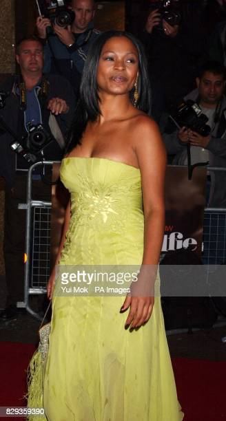Nia Long arrive for the world charity premiere of Alfie at the Empire Leicester Square in central London in aid of MakeAWish foundation