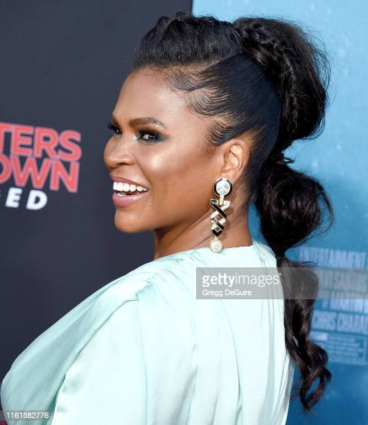 Nia Long arrives at the LA Premiere Of Entertainment Studios' 47 Meters Down Uncaged at Regency Village Theatre on August 13 2019 in Westwood...