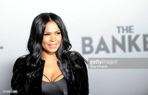 Nia Long at the world premiere of The Banker at the National Civil Rights Museum on March 02 2020 in Memphis Tennessee The Banker opens in select...