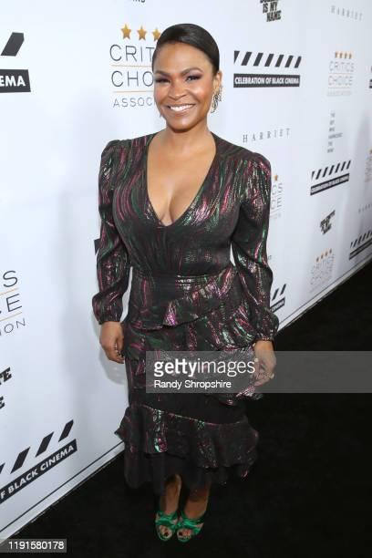 Nia Long attends the Celebration of Black Cinema at Landmark Annex on December 02 2019 in Los Angeles California