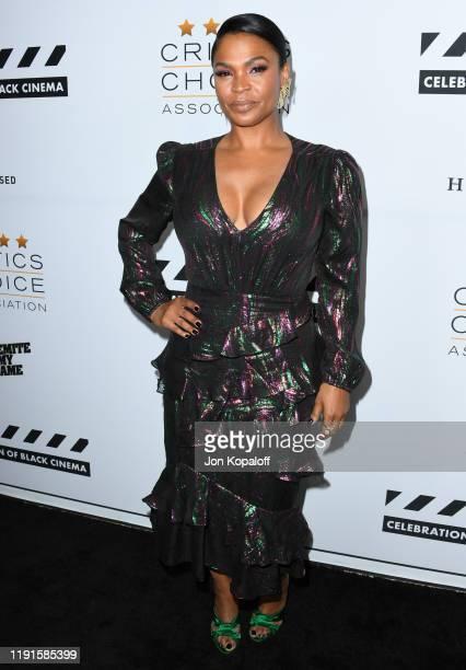 Nia Long attends The Critics Choice Association Presents Celebration Of Black Cinema at Landmark Annex on December 02 2019 in Los Angeles California