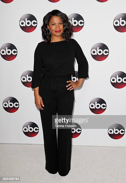 Nia Long attends the Disney/ABC 2016 Winter TCA Tour at Langham Hotel on January 9 2016 in Pasadena California