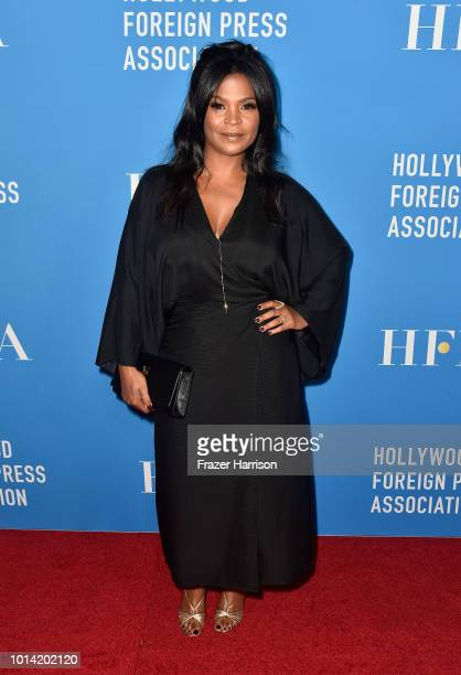Nia Long attends the Hollywood Foreign Press Association's Grants Banquet at The Beverly Hilton Hotel on August 9 2018 in Beverly Hills California