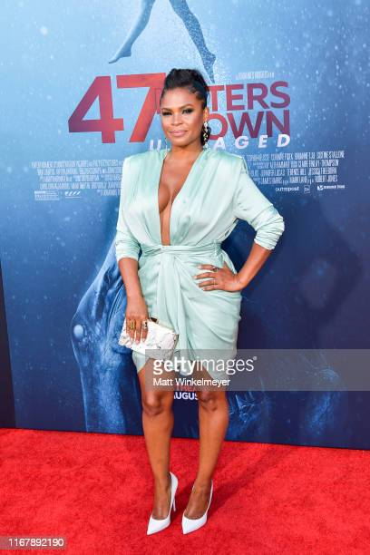 Nia Long attends the LA Premiere of Entertainment Studios' 47 Meters Down Uncaged at Regency Village Theatre on August 13 2019 in Westwood California