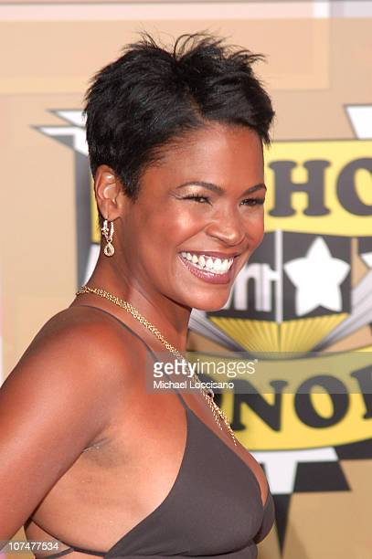 Nia Long during 2005 VH1 Hip Hop Honors Arrivals at Hammerstein Ballroom in New York City New York United States