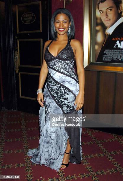 Nia Long during 'Alfie' New York City Premiere Inside Arrivals at Ziegfield Theater in New York City New York United States