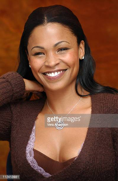 Nia Long during Alfie Press Conference with Jude Law Mick Jagger Marisa Tomei Jane Krakowski Nia Long and Dave Stewart at Essex House in New York...