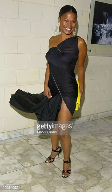Nia Long during Christian Dior Launches New Collection D'Trick Featuring Special Performance by the Pussycat Dolls Arrivals at Argyle Hotel in West...