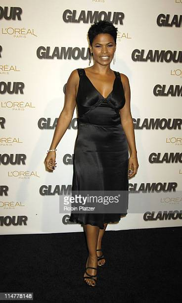 Nia Long during Glamour Magazine Salutes The 2005 Women of the Year Inside Arrivals at Avery Fisher Hall in New York City New York United States