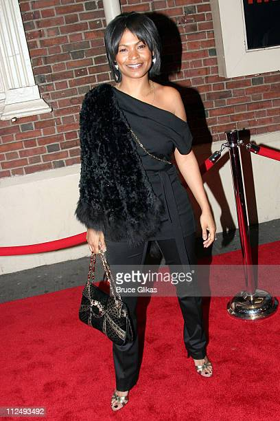 Nia Long during Julius Caesar on Broadway Arrivals April 3 2005 at The Belasco Theater in New York City New York United States