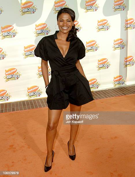 Nia Long during Nickelodeon's 20th Annual Kids' Choice Awards Arrivals at Pauley Pavilion UCLA in Westwood California United States
