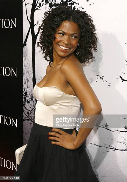Nia Long during 'Premonition' Los Angeles Premiere Red Carpet at Cinerama Dome in Hollywood California United States
