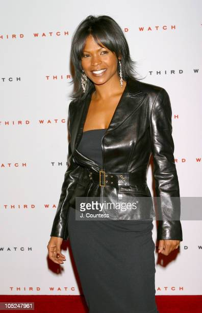 Nia Long during Third Watch 100th Episode Celebration Arrivals at Capriani in New York City NY United States