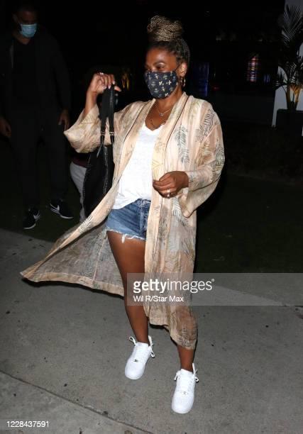 Nia Long is seen on September 9, 2020 in Los Angeles, California.