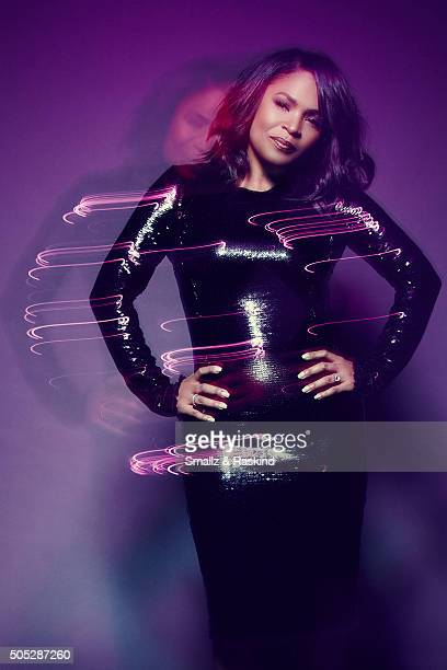 Nia Long poses for a portrait at the 2016 People's Choice Awards at the Microsoft Theater on January 6 2016 in Los Angeles California