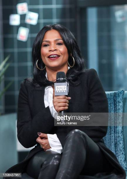 Nia Long visits Build Series at Build Studio on February 24, 2020 in New York City.