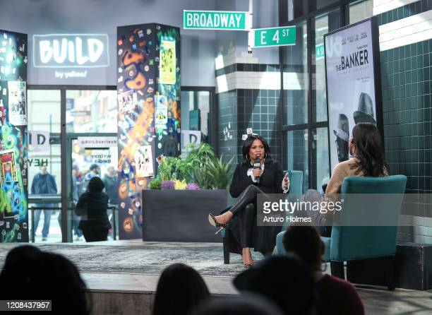 Nia Long visits Build Series at Build Studio on February 24 2020 in New York City