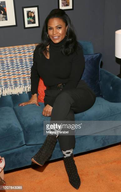 Nia Long visits Couch Surfing at PeopleTV Studios on February 21 2020 in New York United States