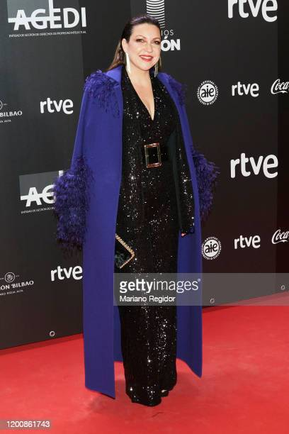 Niña Pastori attends Odeon Awards 2020 at Royal Theater on January 20 2020 in Madrid Spain