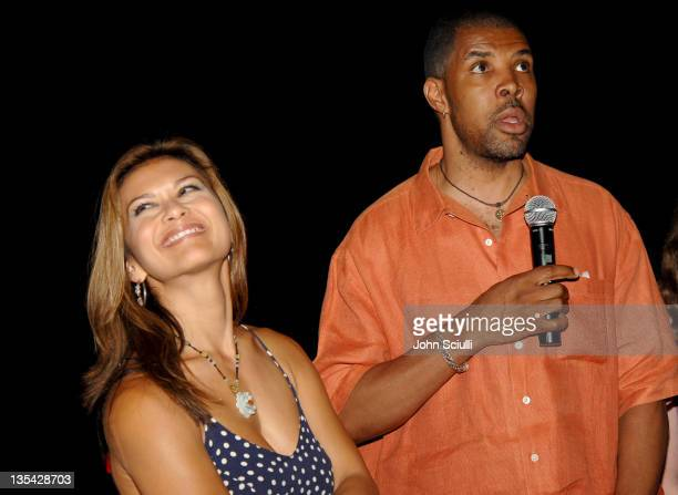 Nia Peeples and Eriq La Salle during CineVegas Film Festival 2005 Inside Out Q A at Brenden Theatres in Las Vegas Nevada United States