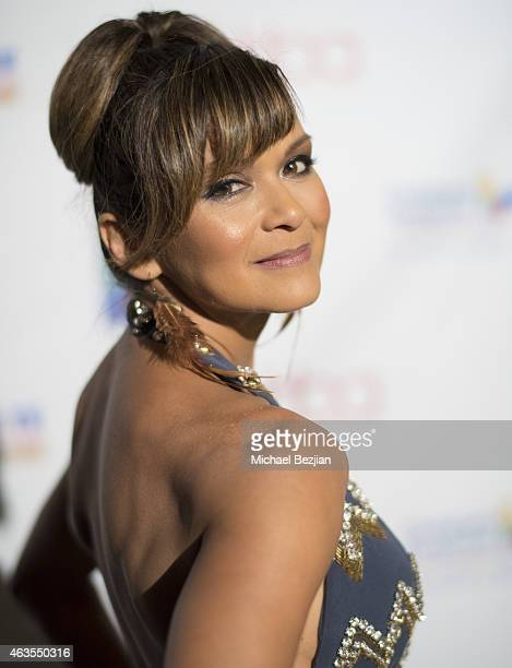 Nia Peeples attends 1st Hollywood Beauty Awards Presented By LATF And Benefiting Children's Hospital Los Angeles at The Fonda Theatre on February 15...