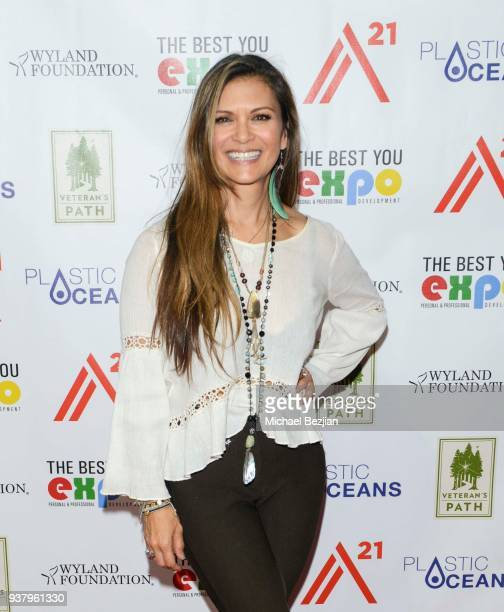 Nia Peeples attends at The Best You Expo on March 25 2018 in Long Beach California