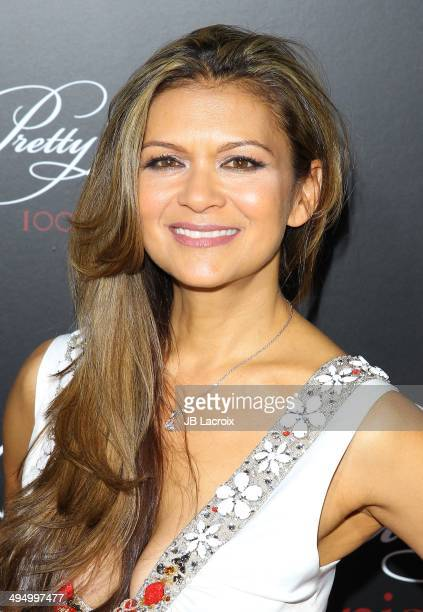 Nia Peeples attends the Pretty Little Liars Celebrates 100 Episodes held at the W Hollywood Hotel on May 31 2014 in Hollywood California
