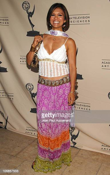 Nia Peeples during ATAS Presents The 2007 Los Angeles Daytime Emmy Reception Arrivals at French 57 in Burbank California United States