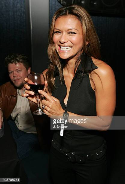 Nia Peeples during Dallas 362 Los Angeles Premiere After Party at Concorde in Hollywood California United States