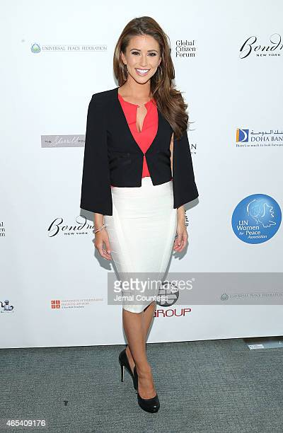Nia Sanchez attends the UN Women For Peace Association International Women's Day Celebration at the UN Delegates Dining Room and Terrace on March 6...