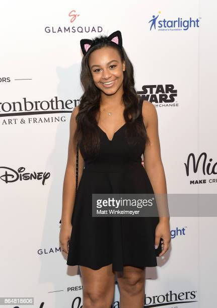 Nia Sioux at the Dream Halloween 2017 Costume Party Benefitting Starlight Children's Foundation presented by Michaels and Aaron Brothers at The...