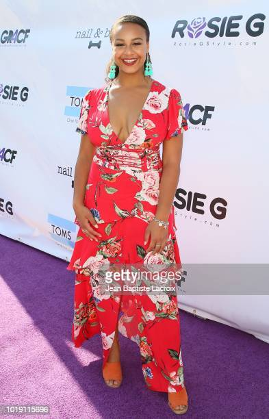 Nia Sioux attends Grace Rose's Fashion Show Fundraiser for Cystic Fibrosis on August 18 2018 in Los Angeles California