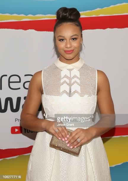 Nia Sioux attends The 8th Annual Streamy Awards at The Beverly Hilton Hotel on October 22 2018 in Beverly Hills California