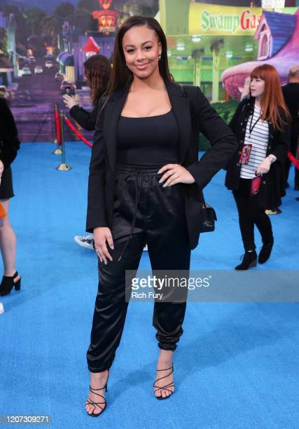 """Nia Sioux attends the Premiere of Disney and Pixar's """"Onward"""" on February 18, 2020 in Hollywood, California."""