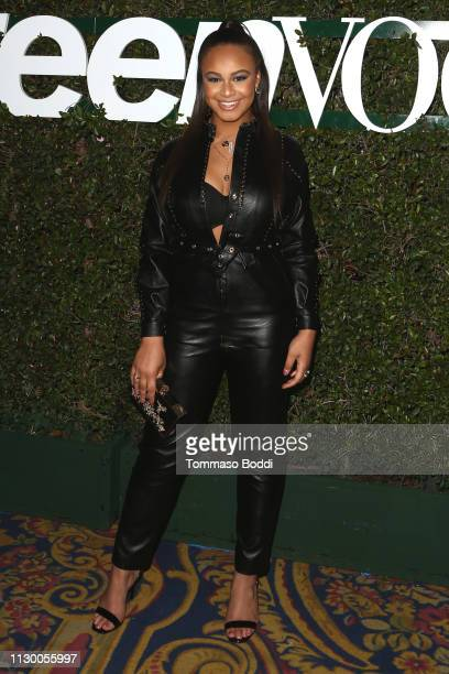 Nia Sioux attends the Teen Vogue's 2019 Young Hollywood Party Presented By Snap at Los Angeles Theatre on February 15 2019 in Los Angeles California