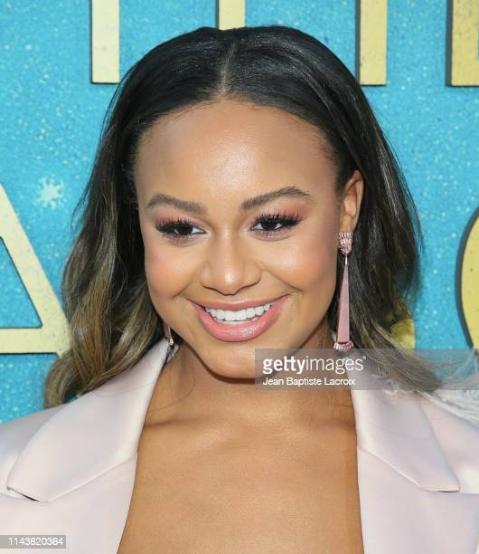 Nia Sioux attends the World Premiere Of Warner Bros The Sun Is Also A Star at Pacific Theaters at the Grove on May 13 2019 in Los Angeles California