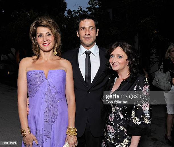 Nia Vardalos Alexis Georgoulis and Rachel Dratch arrive at the Los Angeles premiere of ''My Life In Ruins' at the Zanuck Theater at 20th Century Fox...