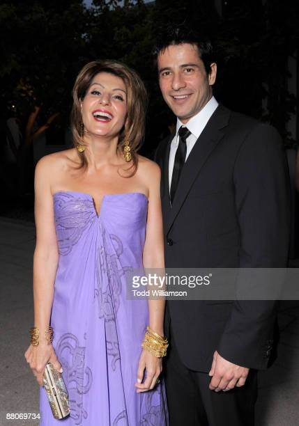 Nia Vardalos and Alexis Georgoulis arrive at the Los Angeles premiere of My Life In Ruins at the Zanuck Theater at 20th Century Fox Lot on May 29...
