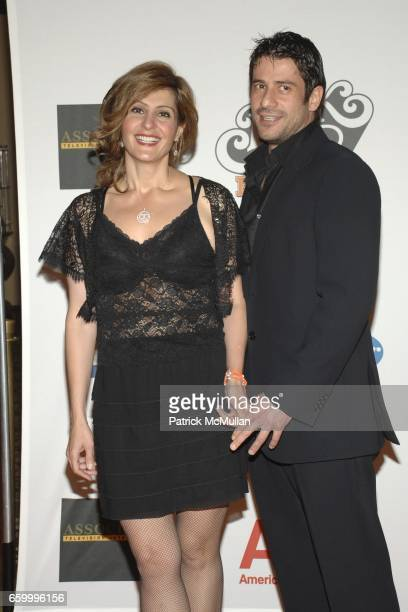 Nia Vardalos and Alexis Georgoulis attend 16th Annual Race to Erase MS event cochaired by Nancy Davis and Tommy Hilfiger at Hyatt Regency Century...